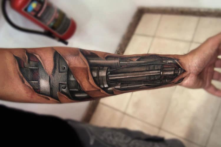 Cool 3D Tattoos For Men