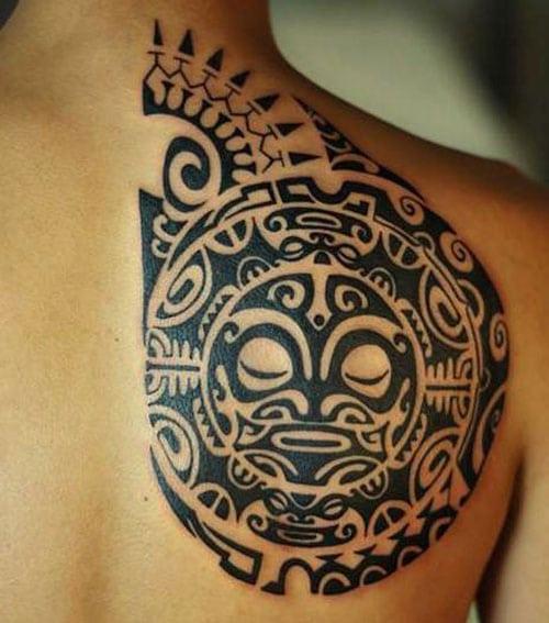 Creative Polynesian Tattoo