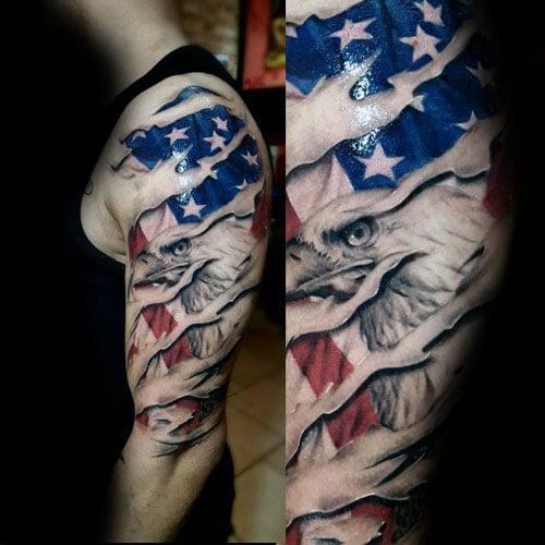 Eagle Tattoo Sleeve