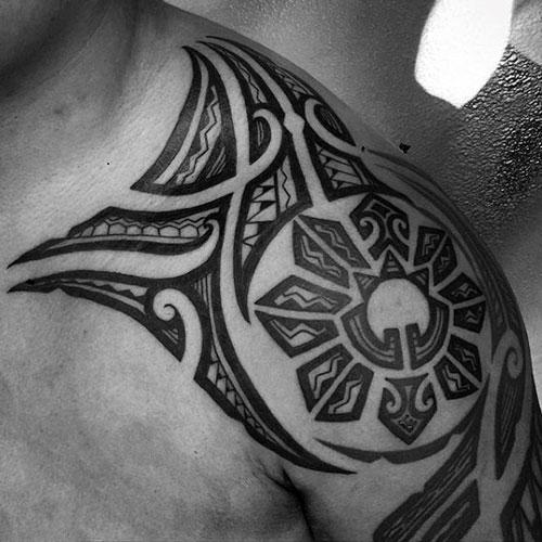 Filipino Sun Tattoo