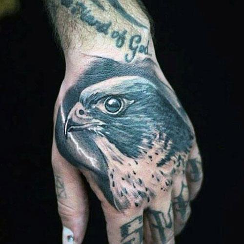 Hawk Tattoo For Men