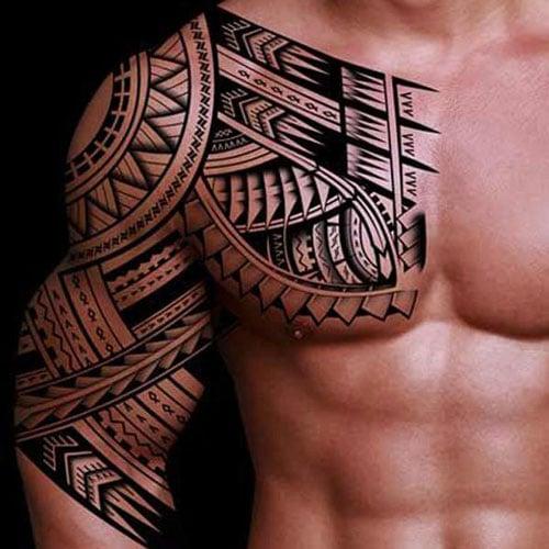 Male Tribal Tattoos