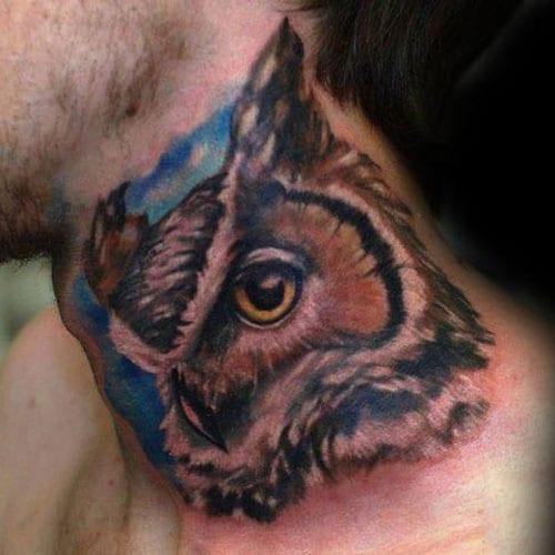 Owl Tattoo For Men