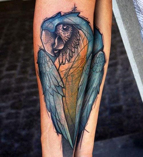 Parrot Bird Design for Men