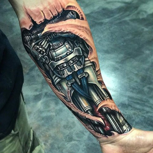 Badass Half Sleeve Tattoos