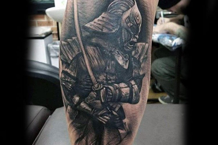Badass Leg Tattoos