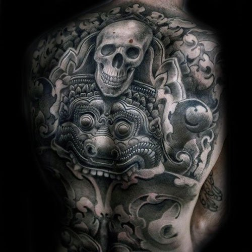 Badass Back Tattoo Ideas For Guys