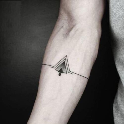 Simple Male Tattoos