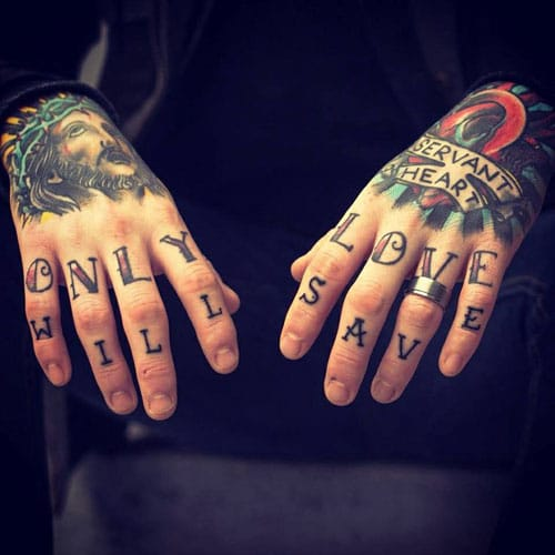 Tattoo For Hand and Wrist
