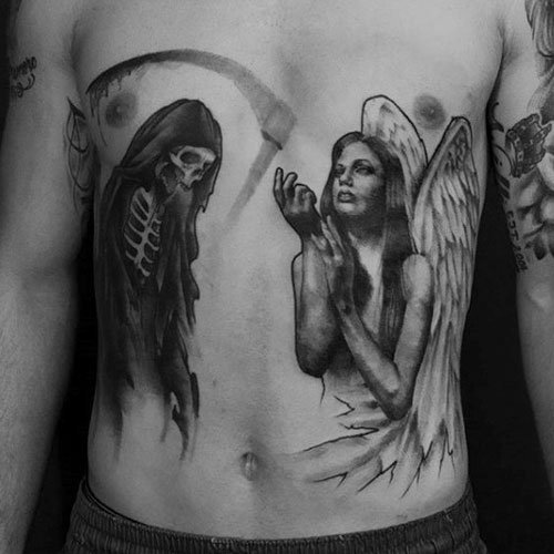 Abdomen Tattoos