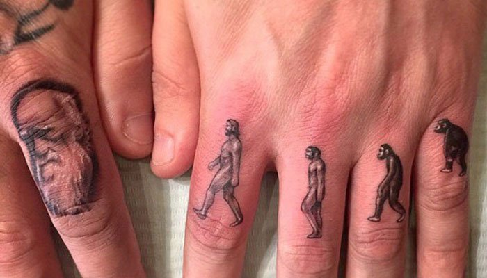 Finger Tattoo Ideas