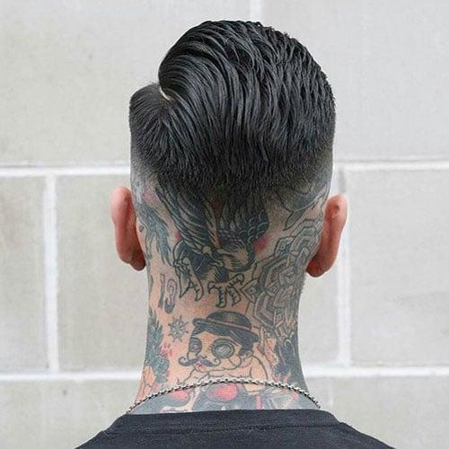 Badass Back of Neck Tattoo