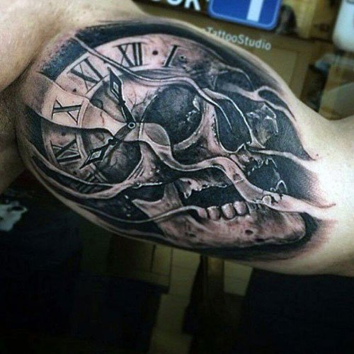 Badass Bicep Tattoos For Men