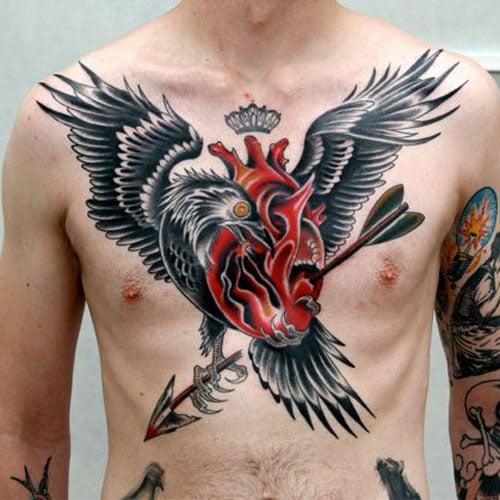 Heart Tattoo Designs For Men
