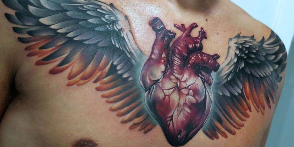 Heart Tattoos For Men