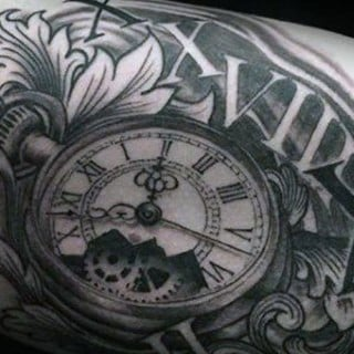 Inner Arm Tattoos For Men