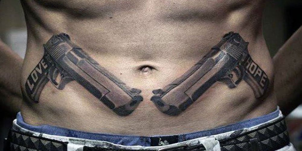 Stomach Tattoos For Men