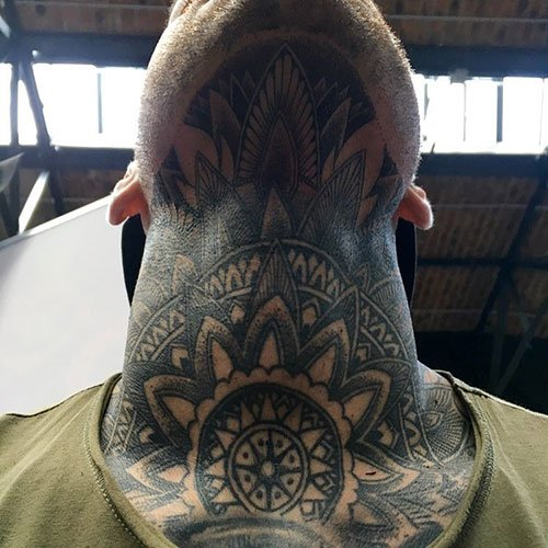 Full Neck Tattoos