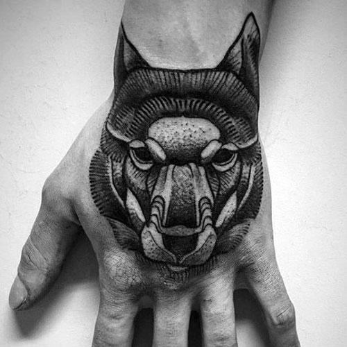 Amazing Wolf Tattoo Designs