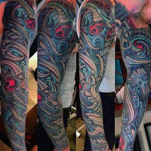 Artistic Full Sleeve Tattoo Designs