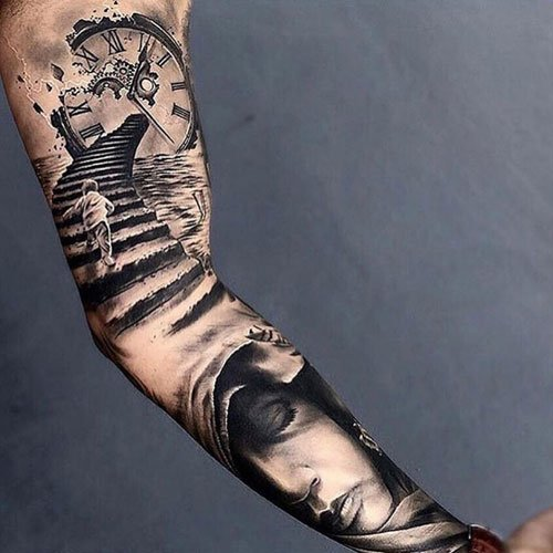 Awesome Sleeve Tattoo Ideas on Arm For Guys