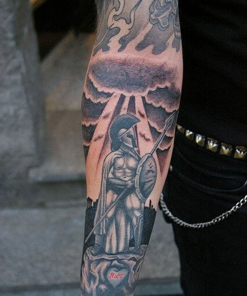 Awesome Tattoo Designs on Lower Arm