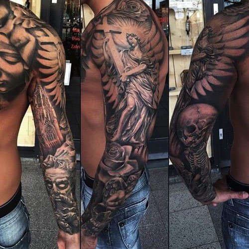 Badass Arm Sleeve Tattoo Ideas For Men