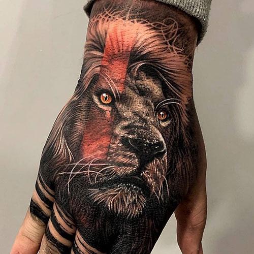 Badass Back of Hand Tattoos