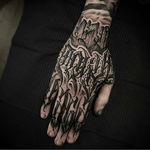 Badass Hand Tattoo Designs For Men