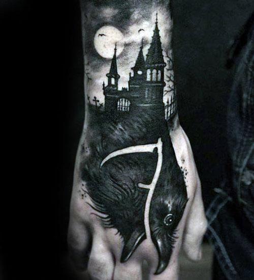 Badass Male Hand Tattoos