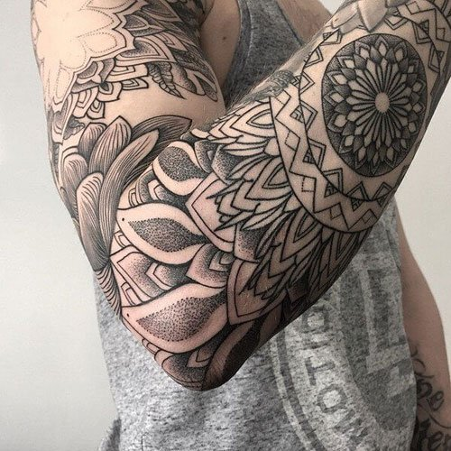 Badass Simple and Unique Arm Tattoos For Men