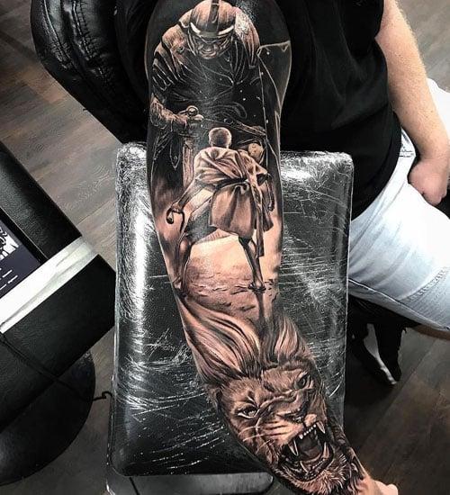 Best Full Sleeve Tattoo Designs For Men