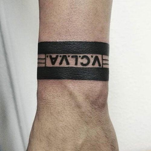 Bracelet Tattoo For Men