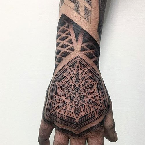 Best Tribal Hand Tattoo Designs