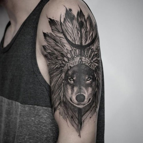 Best Wolf Tattoo Ideas For Men
