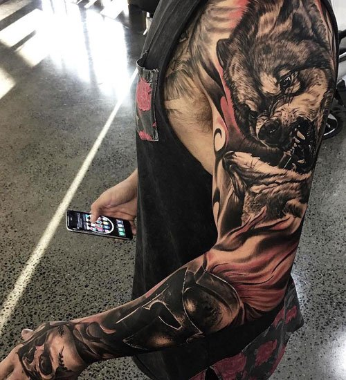 Cool Arm Full Sleeve Tattoo Ideas For Guys
