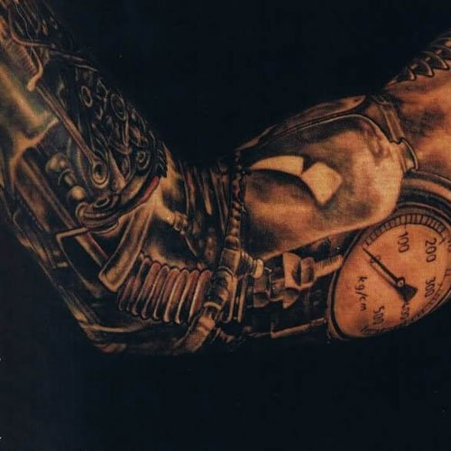 Cool Arm Sleeve Tattoo Designs For Men