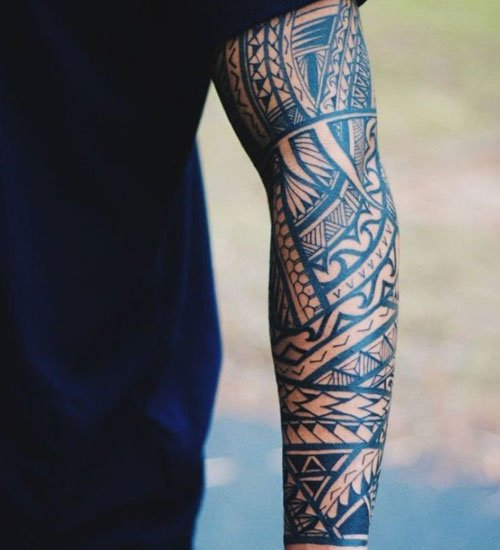 Cool Forearm Tribal Tattoos For Men