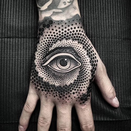 Cool Hand Tattoo Designs For Guys