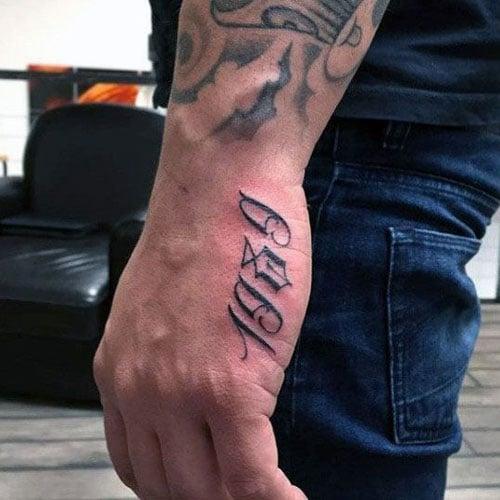 Für männer tattoo hand writtenrumors: 26+