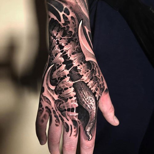 Creative Hand Tattoo Designs For Men