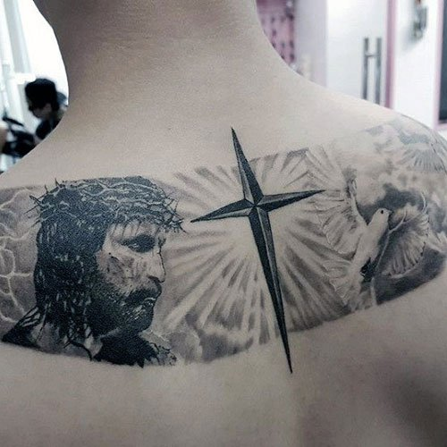 Jesus Christ Cross Tattoos