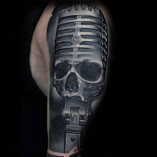 Half Sleeve 3D Tattoos