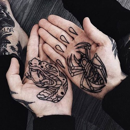 Hand Tattoo Designs For Guys