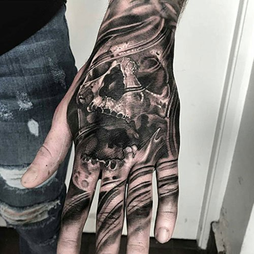 Hand Tattoo Drawings