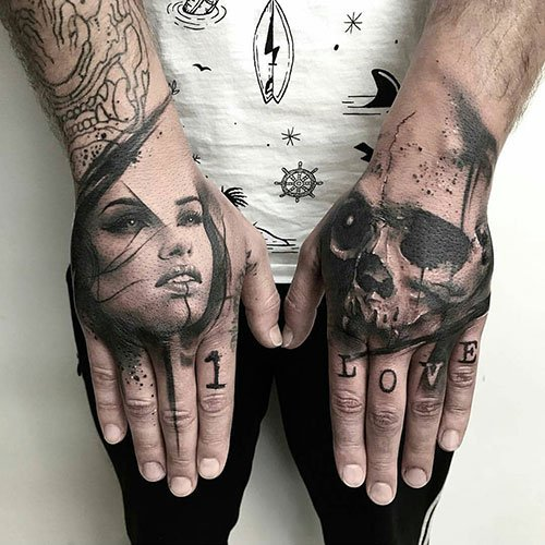 Hand Tattoos with Meaning