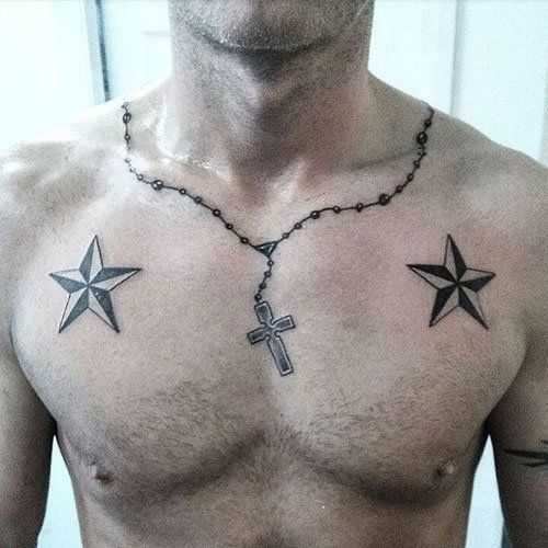 Cross Necklace Tattoo