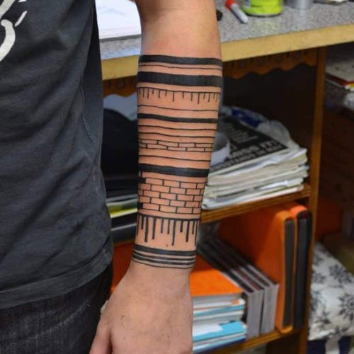 Simple Forearm Tattoos For Men