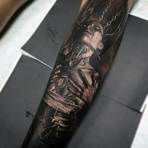 Unique Badass Arm Tattoo Designs
