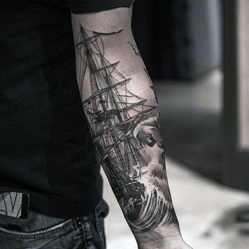 Unique Forearm Tattoo Designs For Men